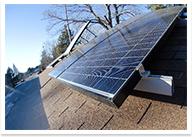 ソーラーパネルの設置イメージ