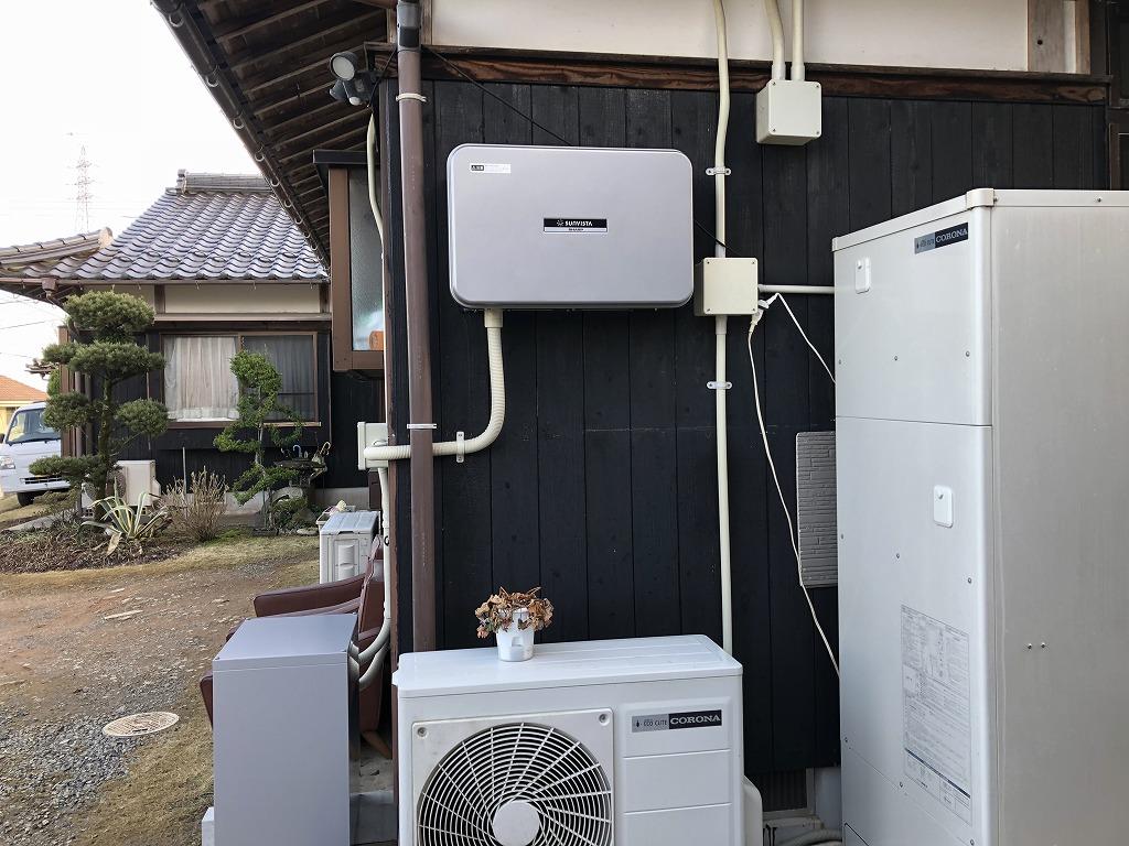 山口市 H.M様邸 蓄電池設置工事の画像
